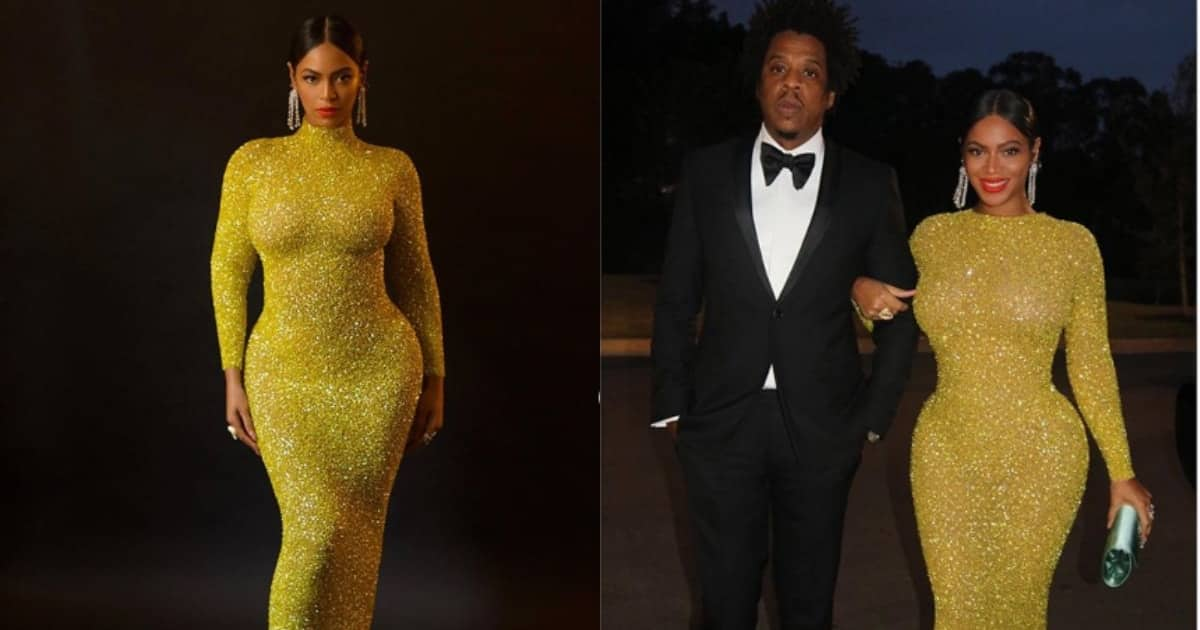 Beyonce shows off flawless figure shortly after fans claimed she was pregnant