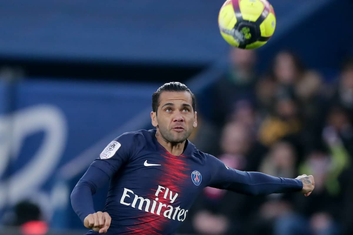 Dani Alves reportedly set to join Arsenal for £200k-a-week salary