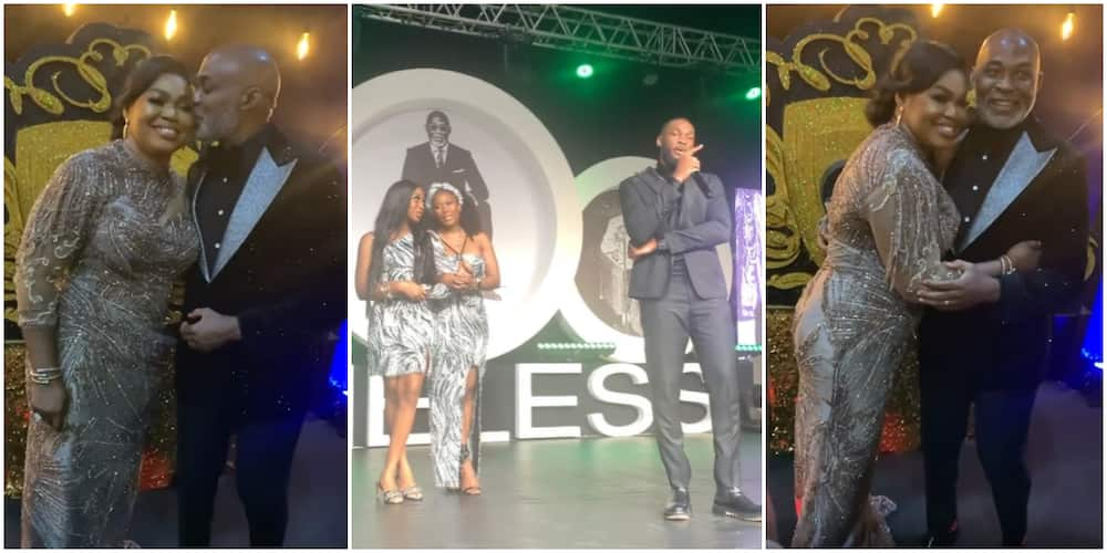 RMD's wife, kids attend his 60th birthday party.