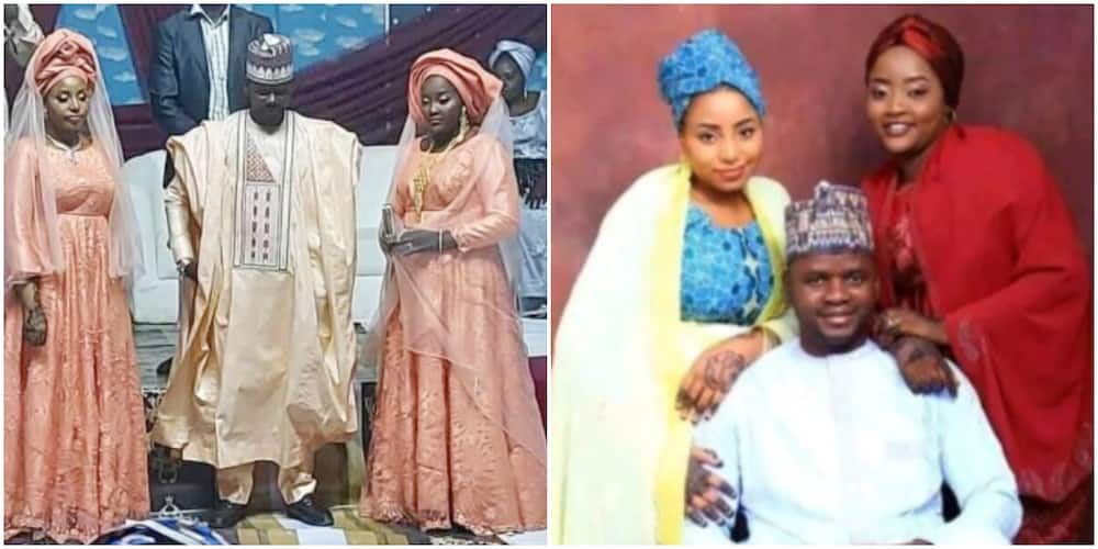 I Enjoy Everything Double Double: Nigerian Man Who Married 2 Women on the Same Day Says