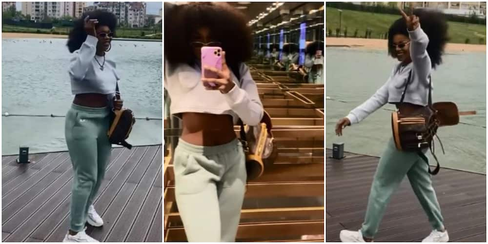 BBNaija's Tacha Shares Fun Videos From Her Trip to Istanbul, Stirs Reactions From Fans
