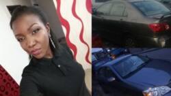 Nigerian man's car gets stolen in Surulere (photos)