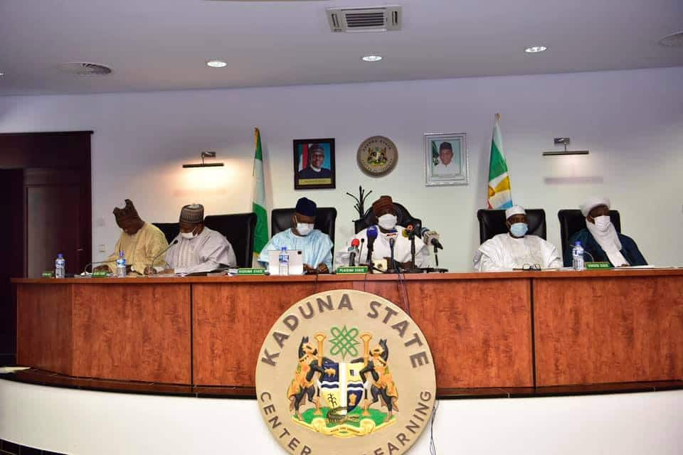 VAT, 2023 Presidency and 3 other Crucial Issues Discussed by Northern Governors in Kaduna