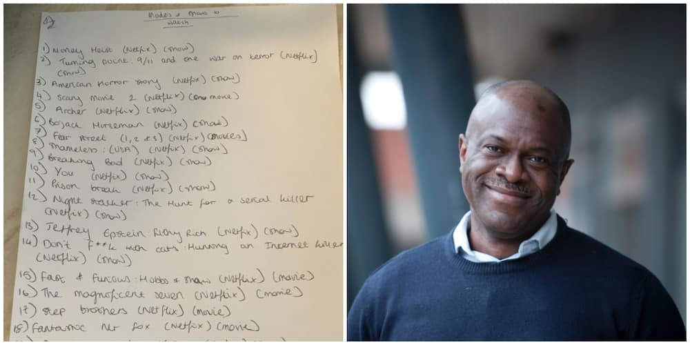 UK-based Nigerian single dad shares list of movies his daughter going to university mandated him to see