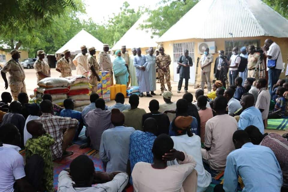 Borno ta karba mutum 94 da suka yi nasarar tserowa daga hannun Boko Haram