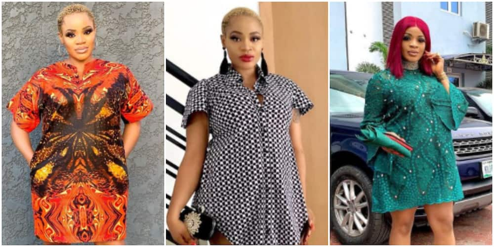 Mum to be: 6 gorgeous photos of actress Uche Ogbodo flaunting her baby bump effortlessly