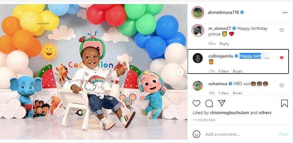 Super Eagles captain Musa specially celebrates son on his birthday