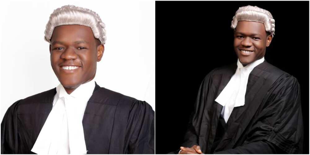 Markanthony Ezeoha Chukwudi is the best graduating male student of Nigerian Law School