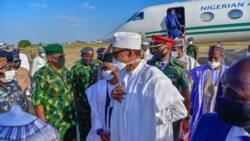 Shugaba Buhari ya dira jihar Kaduna don halartan bikin yaye daliban makarantar Soji NDA