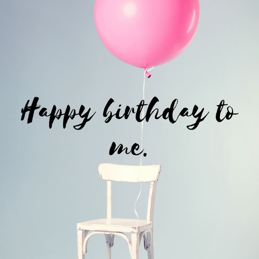 What should I say on my birthday?