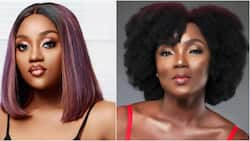 Actress Chioma Akpotha reacts after her photo was used to report Davido's fiancee's recovery from COVID-19