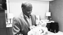 After many years of marriage Sokoto state governor welcomes first baby with 2nd wife in Dubai (photo)