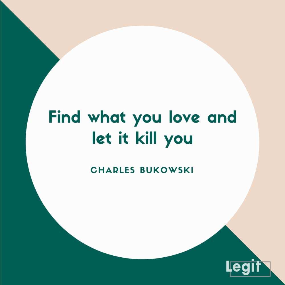 Bukowski quotes love