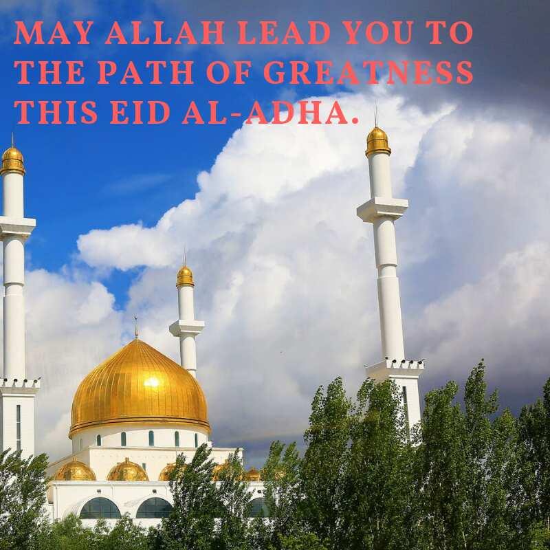 happy Eid al-Adha greetings for family