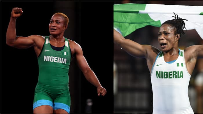 Nigerian Governor splashes millions on Olympic silver medalist Blessing Oborududu, others in awesome ceremony