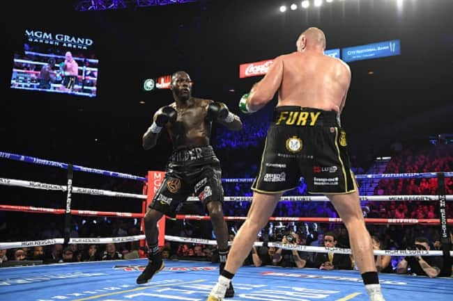 Tension as Tyson Fury sends 1 big message to Deontay Wilder over the WBC title fight