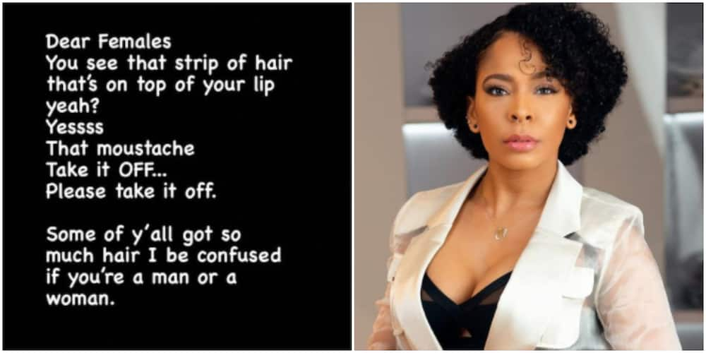 BBNaija's Tboss slams women with moustache, says she gets confused trying to figure if they are men or women
