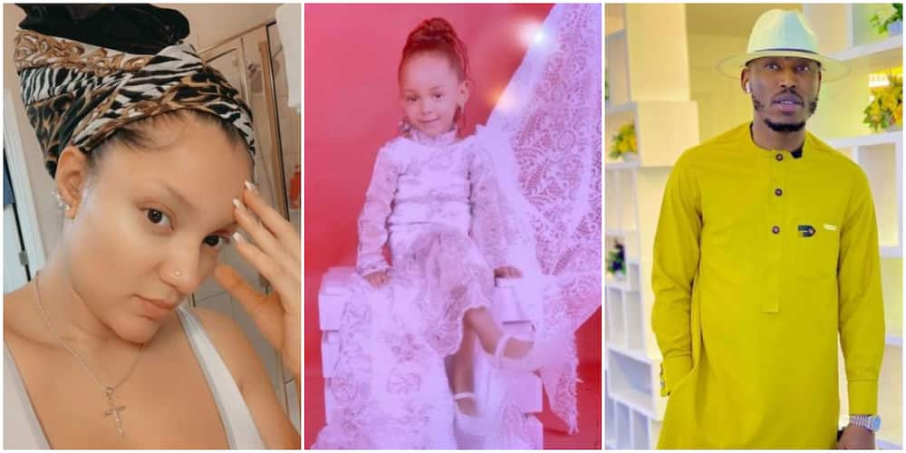Actress Gifty Powers calls out Mr2kay for wishing their child a happy birthday
