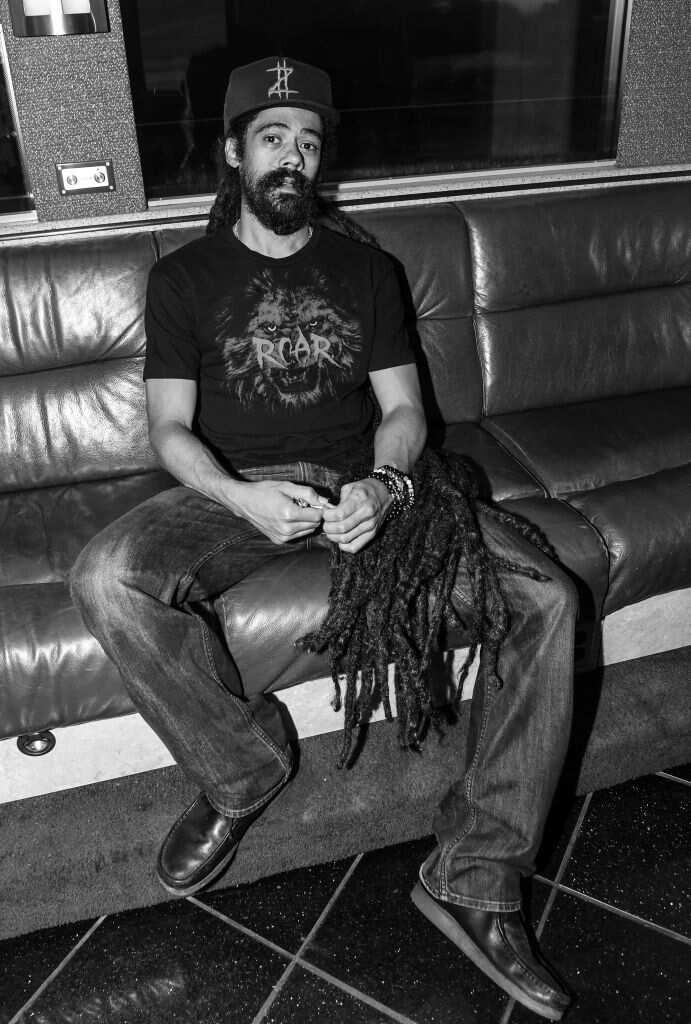 Damian Marley au 2017 ONE Music Fest à Lakewood Amphitheatre le 9 septembre 2017 à Atlanta. (Photo de Paras Griffin/WireImage)
