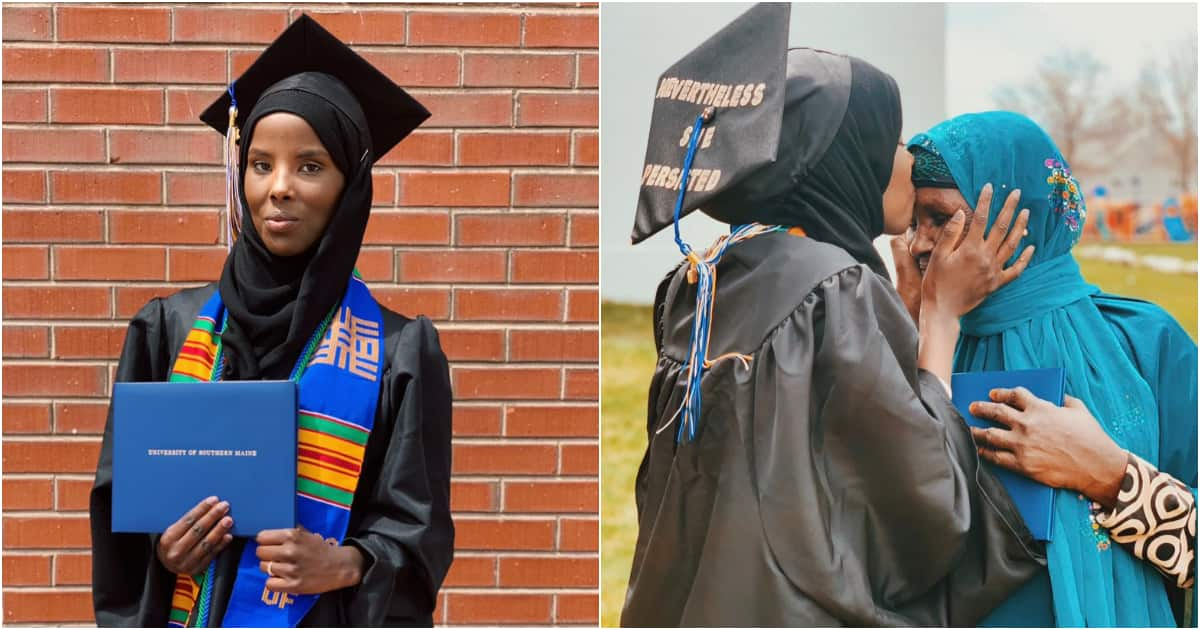 Refugee turn model shares her story as she graduates from US university