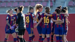 Excitement as Nigerian star makes history with Barcelona after helping them win record sixth title