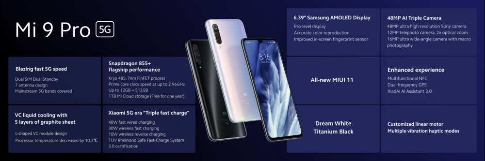 Xiaomi Mi 9 pro 5G camera