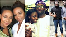 Genevieve Nnaji, Simi, 5 other celebs who share striking resemblance with their siblings