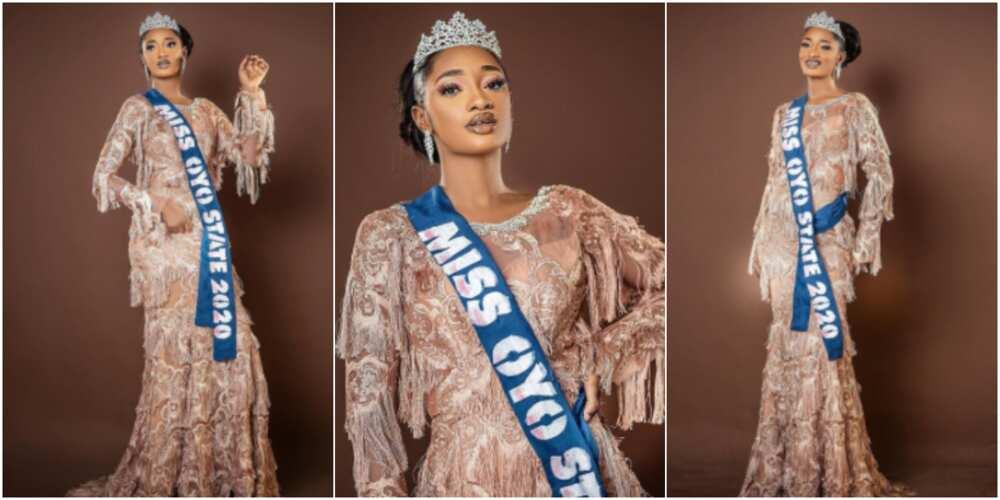 Alaafin of Oyo has a new beauty queen
