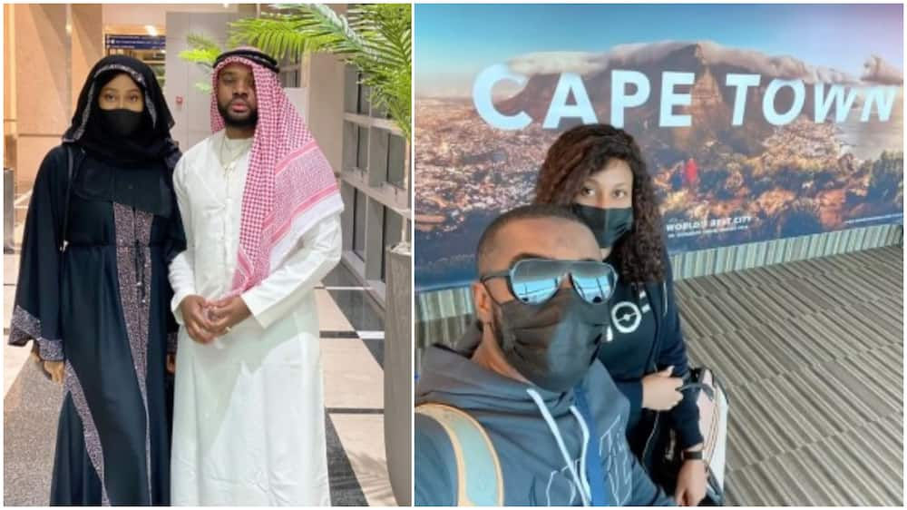 Actor Williams Uchemba takes wife on honeymoon to 2 cities on different continents