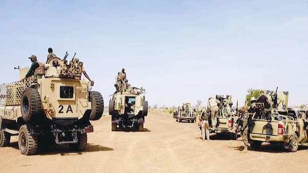 Nasrun minallah: Dakarun soji sun bindige 'yan Boko Haram 3, sun cafke 11 Borno