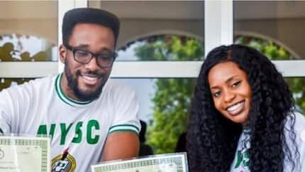 Vice president's daughter Kiki Osinbajo rejoices as she and cousin complete NYSC (photos)