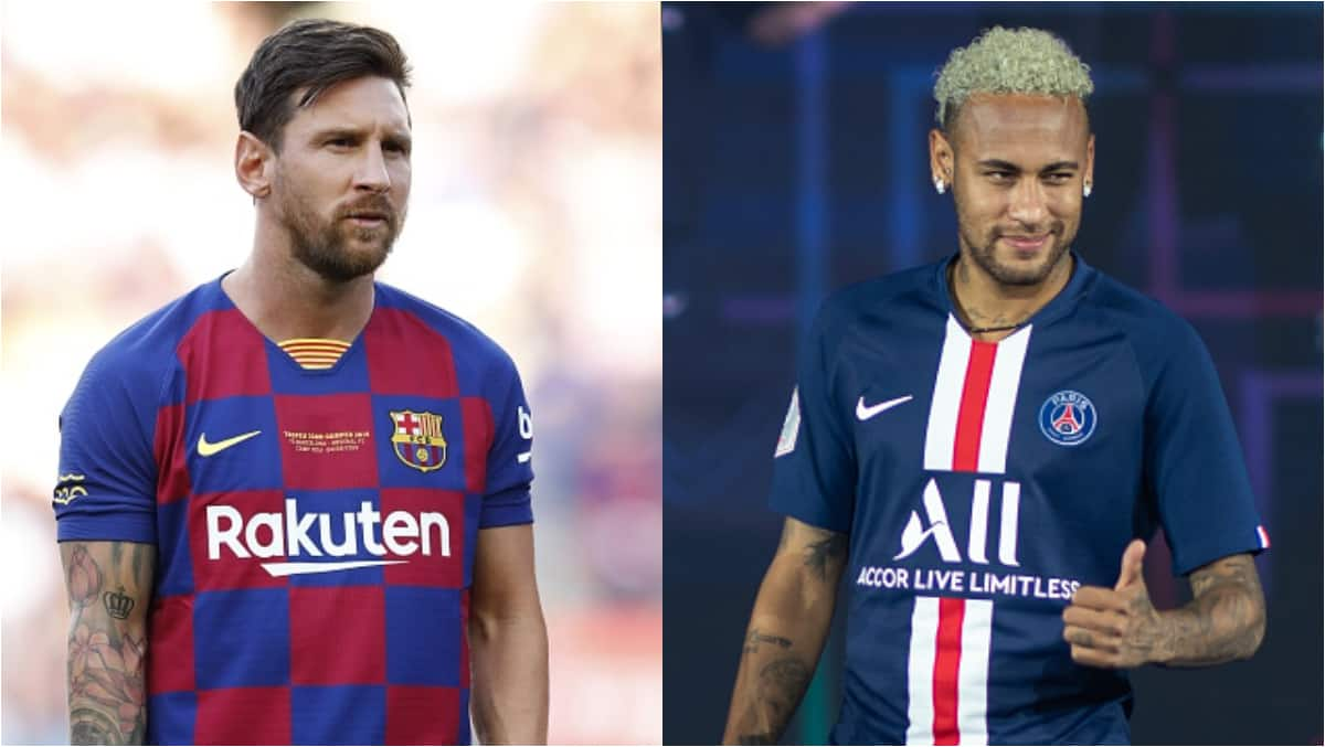 Messi tells Neymar to join him at Man City   PEAKVIBEZ