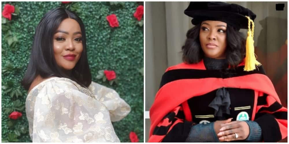 Comedienne Helen Paul studying to become a professor in the US