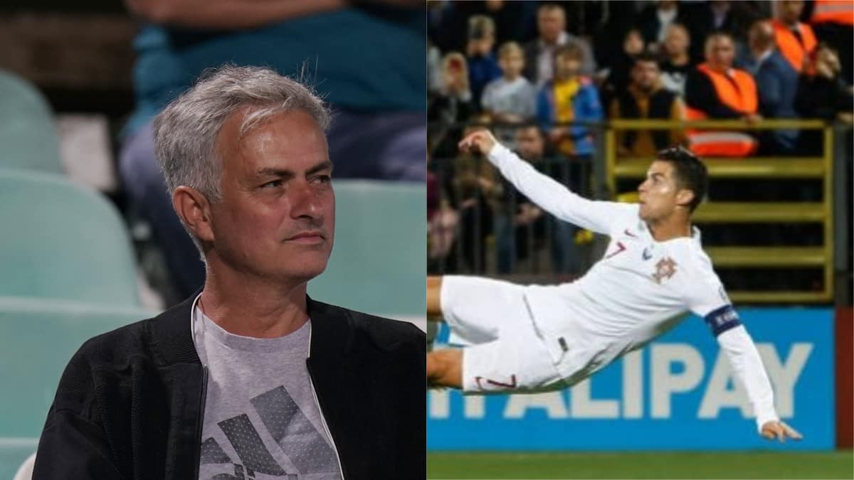 Jose Mourinho makes stunning statement about Ronaldo after netting 4 goals against Lithuania