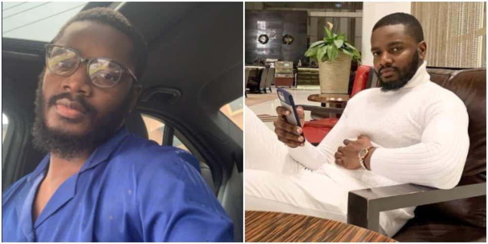 BBNaija's Leo says policeman tried to extort him despite his permit