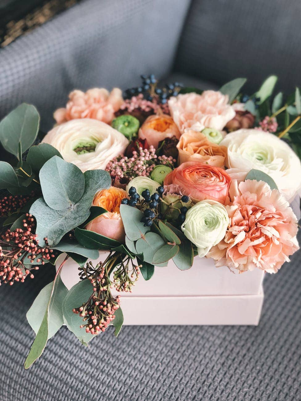 Flowers as a gift