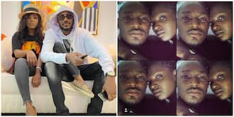 Annie Idibia digs up romantic photo from 16 years ago with 2baba