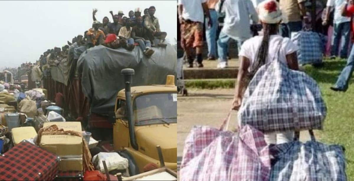 Video from 1983 shows how Ghanaians were deported from Nigeria