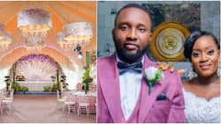 Nigerian lady reaps reward of shooting her shot as she marries the man 9 years later, cute photo warms hearts