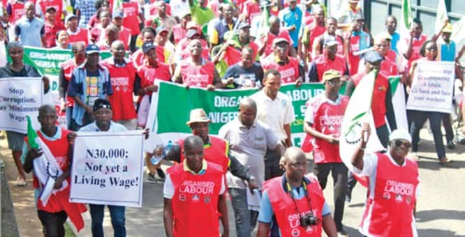 Minimum wage: State governors get new deadline from Trade Union