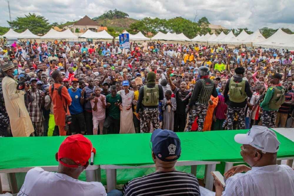 Yan kwanaki kafin zaben gwamnan Ondo: An yi harbe-harbe a garin Akure