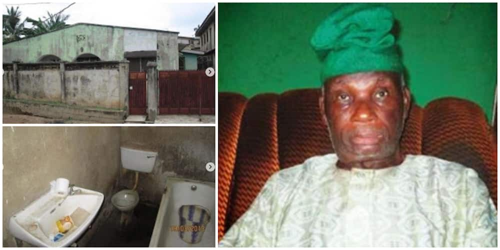 Outrage as Photos of the Current Place Where the Man who Designed Nigeria's Flag Lives Emerge, Many Are Sad