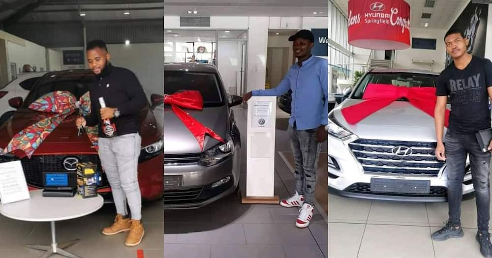 Friendship Goals: 3 Friends Flex Hard by Buying Cars at the Same Time, Many React