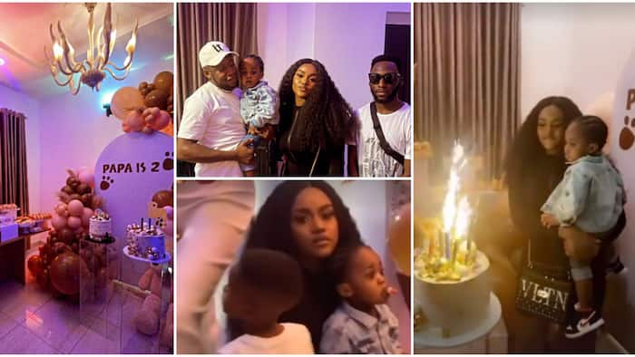 Davido absent as Chioma organises a beautiful house party for Ifeanyi's 2nd birthday, shares cute photos