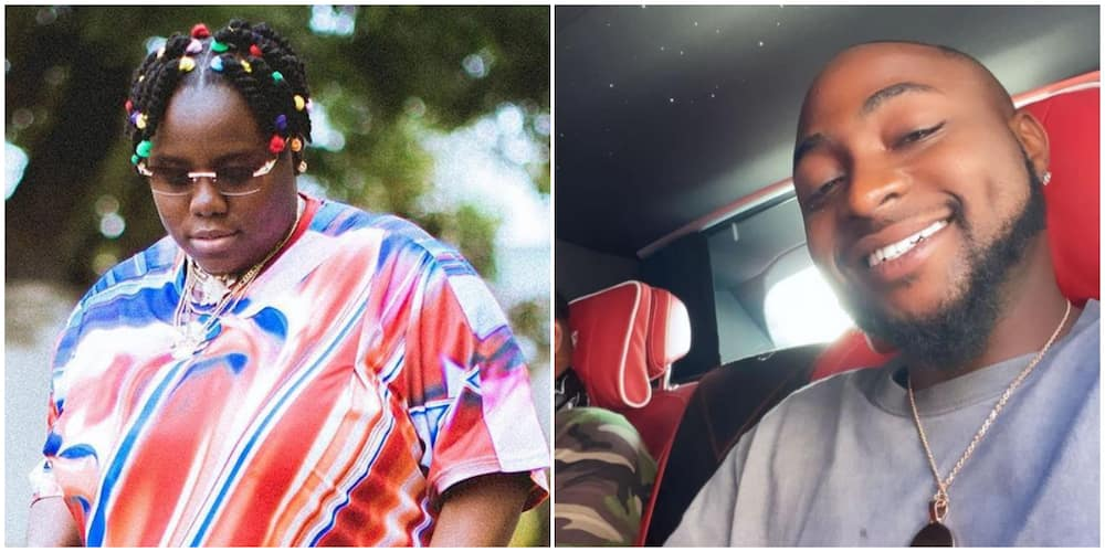 Singer Teni thankful as Davido graciously spends 8 hours with her on music video set