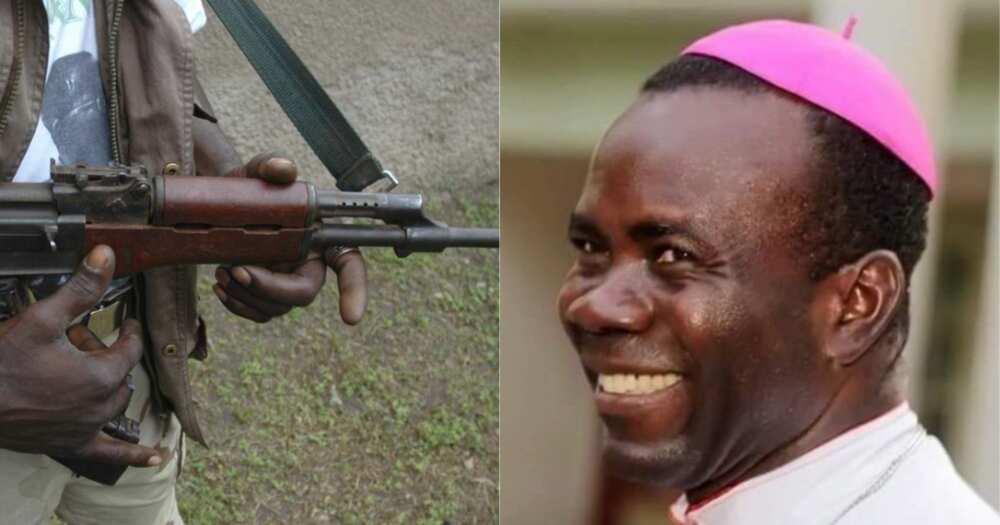 Gunmen kidnap Catholic Bishop, driver in Imo