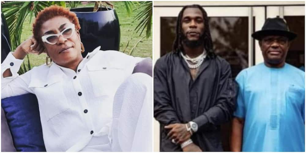 They Paid Everyone Except Him: Burna Boy's Mum Clears the Air Over Payment by Rivers State Government