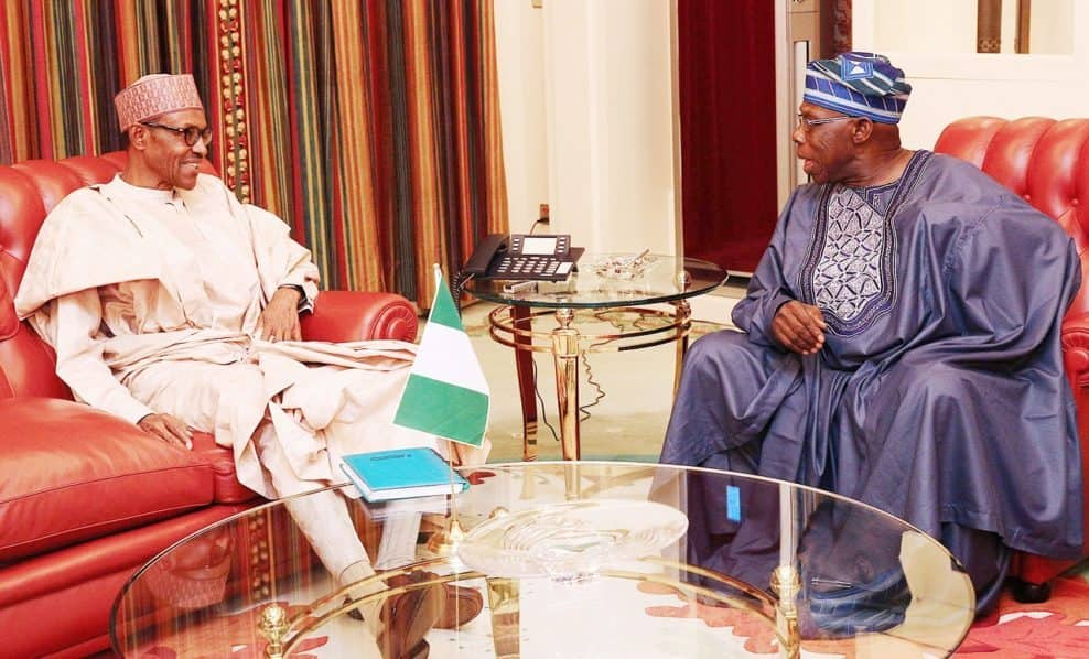 Obasanjo: Prominent Nigerians want Buhari to listen to ex-president's advice
