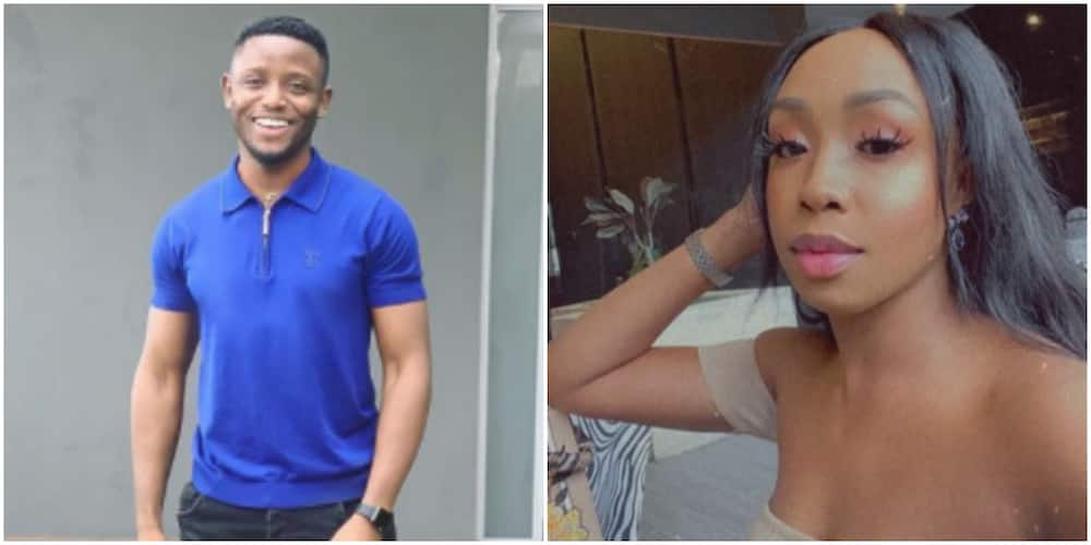 Singer Chike's mystery lady finally shows up (video)