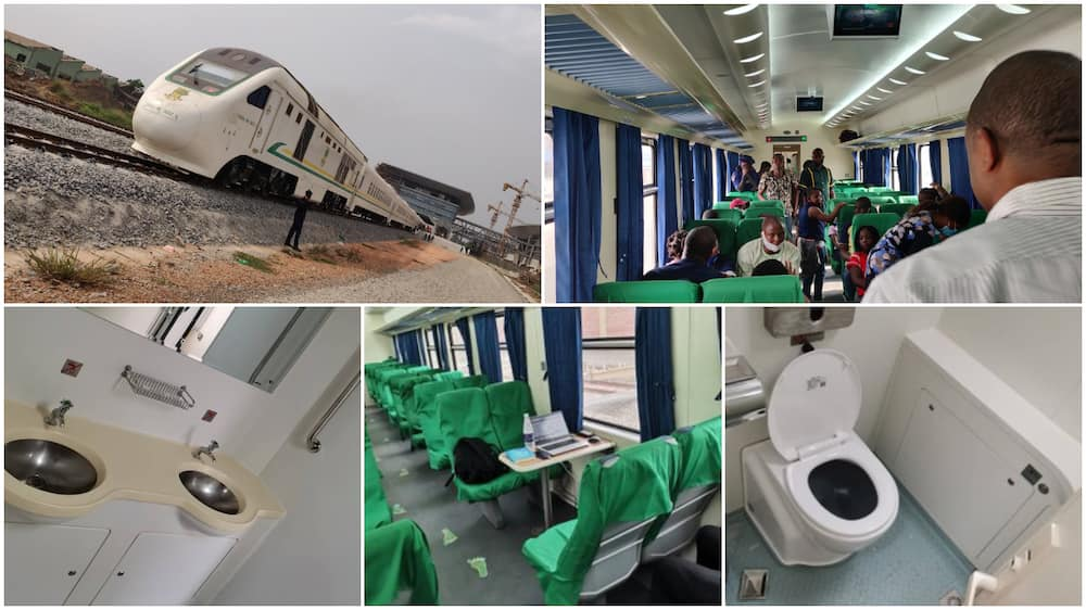 Nigeria's speed rail plying Lagos and Ibadan wows many with its comfort